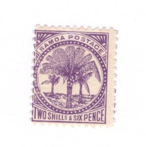 Samoa #19e MH Hinge Thin - Stamp CAT VALUE $10.00