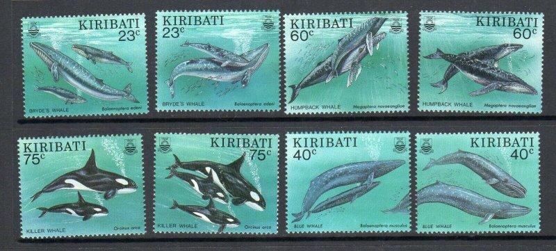 Kiribati 1994 Scott# 623-628 Whales
