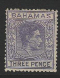 Bahamas Sc#105 MVLH