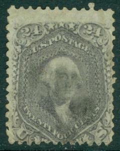 EDW1949SELL : USA 1862 Scott #78 Used. Light cancel. Catalog $350.00.