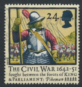 Great Britain  SG 1620  SC# 1454 Civil War   Used see detail and scan