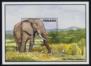 Tanzania 1029 MNH Elephant