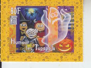 2017 Fr Polynesia The Tupapau Halloween (Scott 1199) MNH