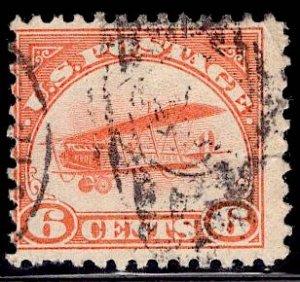 US Stamp #C1 6c Jenny USED SCV $28