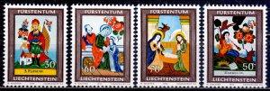 Liechtenstein. 1974. 616-19. Religion. MNH.