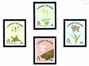 Cayman Is 535-38 MNH 1985 Flowers
