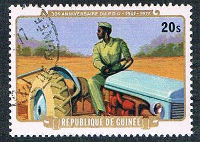 Guinea 740 Used Soldier driving tractor (BP0854)