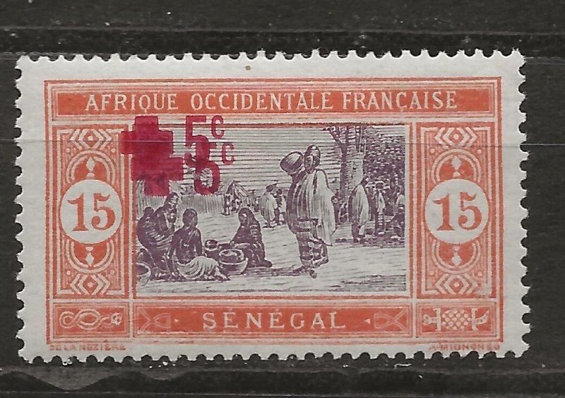 Senegal B2a Y&T 58 MHR VF 1918 SCV $190.00 (jr)