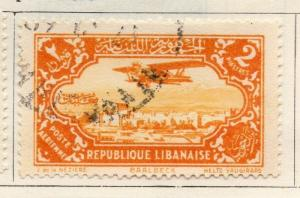 Great Lebanon 1931 Early Issue Fine Used 2p. 109552