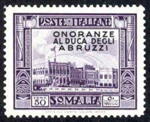 Somalia Sc# 158 MH 1934 50c overprint Definitives