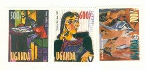 UGANDA 1579-81 MNH CV$ 4.00 BIN$ 2.00