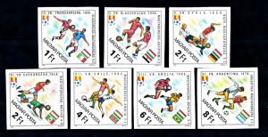 [59526] Hungary 1982 World Cup Soccer Football Spain Imperforated MNH