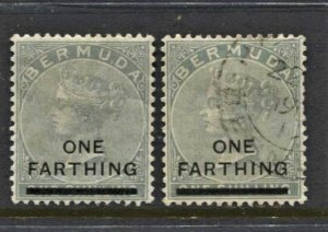 STAMP STATION PERTH - Bermuda #26 QV Overprint MH / FU1901 CV$7.50