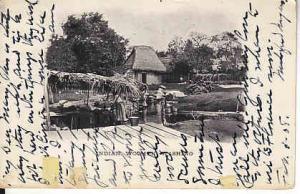 Honduras - #113 on Post Card - Indian Women Washing  1908