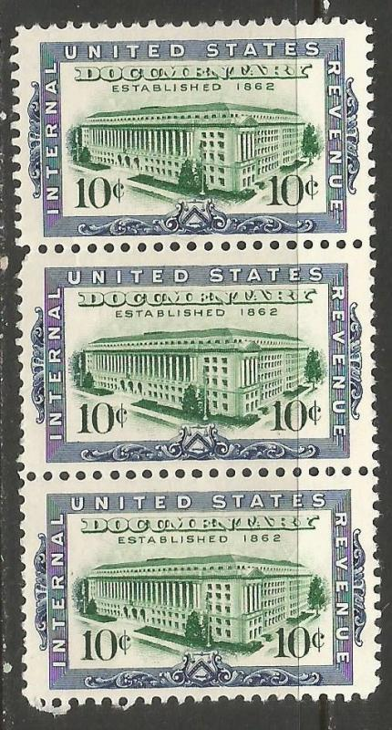 UNITED STATES R733 MNH STRIP OF 3 216C
