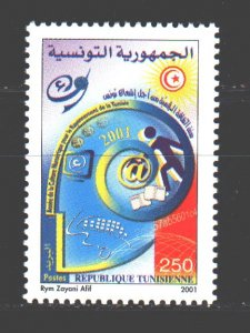 Tunisia. 2001. 1482. Internet, culture. MNH.