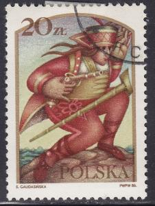 Poland 2764 Janoslk, The Theif 20zł 1986