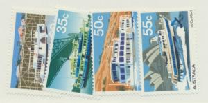 Australia Scott #696 To 699, Ferries and Murray River Steamers Issue From 197...