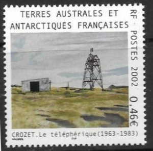 2002 TAAF French Antarctic Territory 482 Crozet cable car