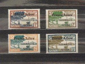 6366   Wallis Futuna   MH # 94, 95, 97, 98               CV$ 13.00