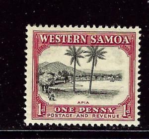 Samoa 167 MH 1935 issue
