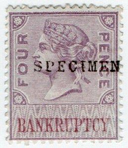 (I.B) QV Revenue : Bankruptcy 4d (specimen)
