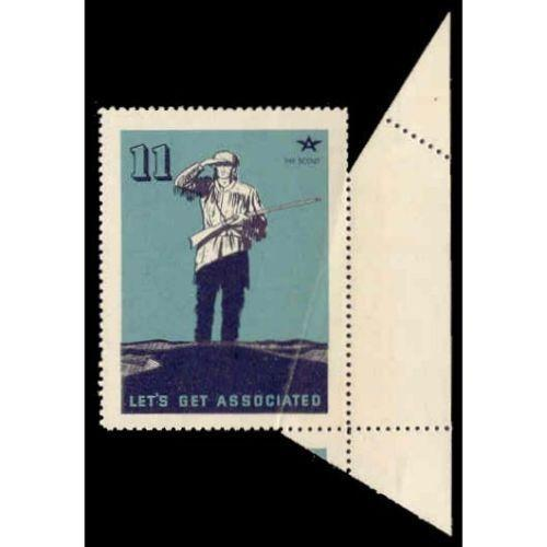 US - Frontier Scout Poster Stamp - Perf Freak