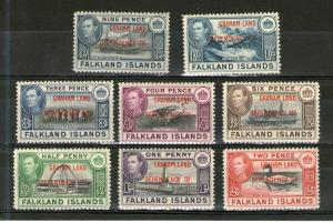 Falkland Islands - Graham Land 2L1-2L8 MNH