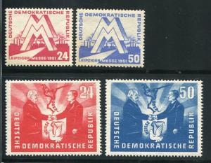 Germany #78-81 Mint VF NH