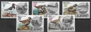 1983 - Alderney mint mnh  Set Birds