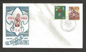 1964 Fiji Boy Scout Jubilee Jamborette FDC C George