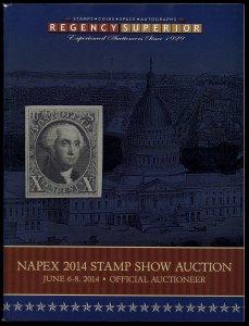 Regency Superior catalog: Auction 105  - NAPEX 2014 + Space & Autographs