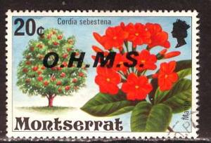 Montserrat; 1976; Sc. # O13; O/Used Single Stamp