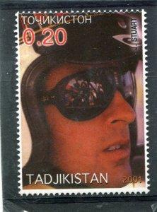 Tajikistan 2001 JAMES STEWART FORMULA ONE 1 value Perforated Mint (NH)