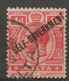 Malta SG 116 - George V  Used - opt Self Government