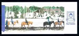 [58598] Aland 2008 Europa Horses Booklet MNH