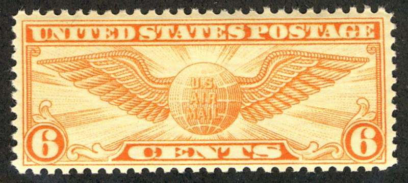 US #C19 SCV $85.00 XF mint never hinged, large stamp, super fresh color SELEC...