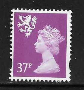 Great Britain Scotland SMH68 37p Machin MNH
