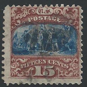Scott 119, Used, 1869 Issue