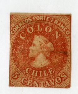 CHILE 14 USED SCV $20.00 BIN $8.00 PERSON