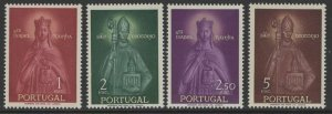 PORTUGAL SG1150/3 1958 ST.ELIZABETH & ST.TEOTONIO COMMEMORATION MNH