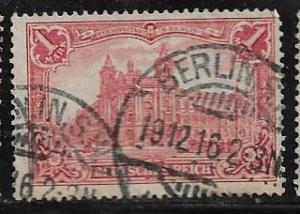 Germany Mi. #94 A I / Sc. #92  used L42