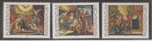 Liechtenstein Scott #1160-1161-1162 Stamps - Mint NH Set