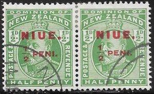 Niue 14 Used - Edward VII - Pair