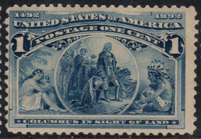 U.S. Scott #230 1-Cent Stamp - Mint NH Single