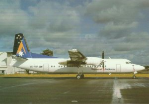 8274 Aviation Postcard  SKYWEST F-27-050  Airlines