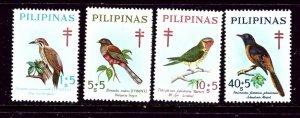 Philippines B36-39 MNH 1969 Birds    (ap4039)