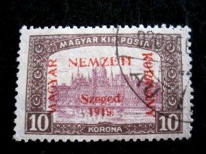 HUNGARY - SCOTT# 11N13 - USED - CAT VAL $60.00