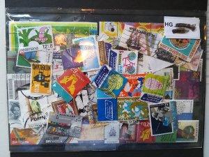 Lot Nederland 100 stamps used