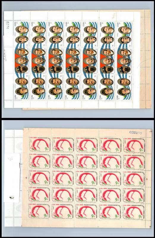VINTAGE:CUBA S/SHEETS,MULTIPLES,99% OGNH SCOTT ASST,LOT CU1992